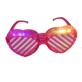4pcs color cheap led shutter glasses