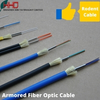 Ftth armored 2 4 6 8 12 24 48 96 144 core g652d sinlge multi mode glass fiber optic patch cord cable 1km per meter price