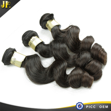 JP hair AAAAA best quality real length brazilian unprocessed virgin human hair wavy