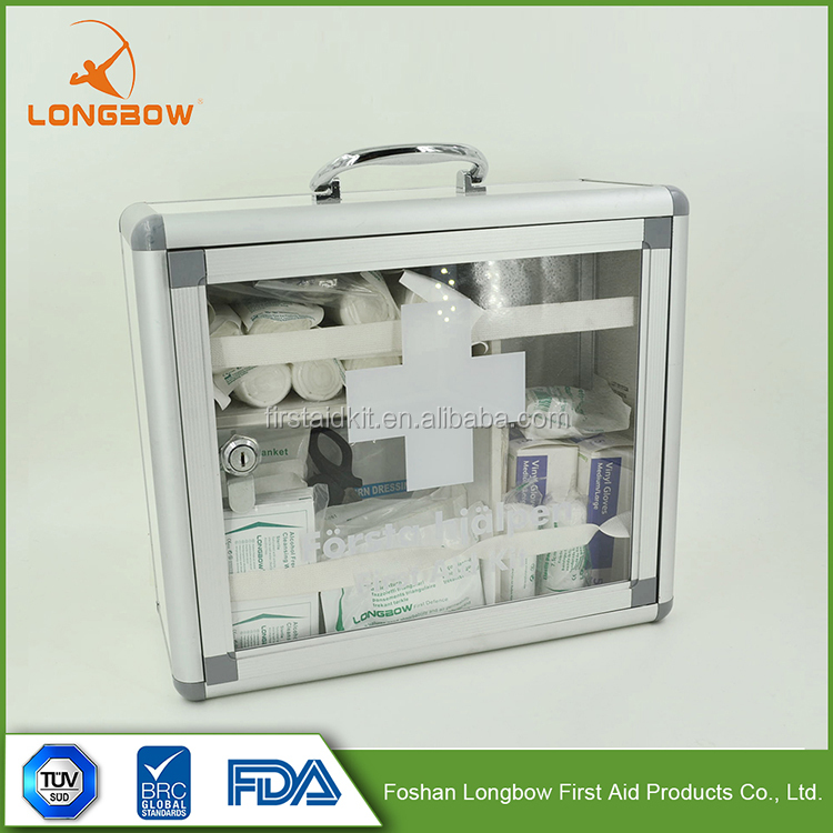 Latest Made In China Burncare Plastic First Aid Kit