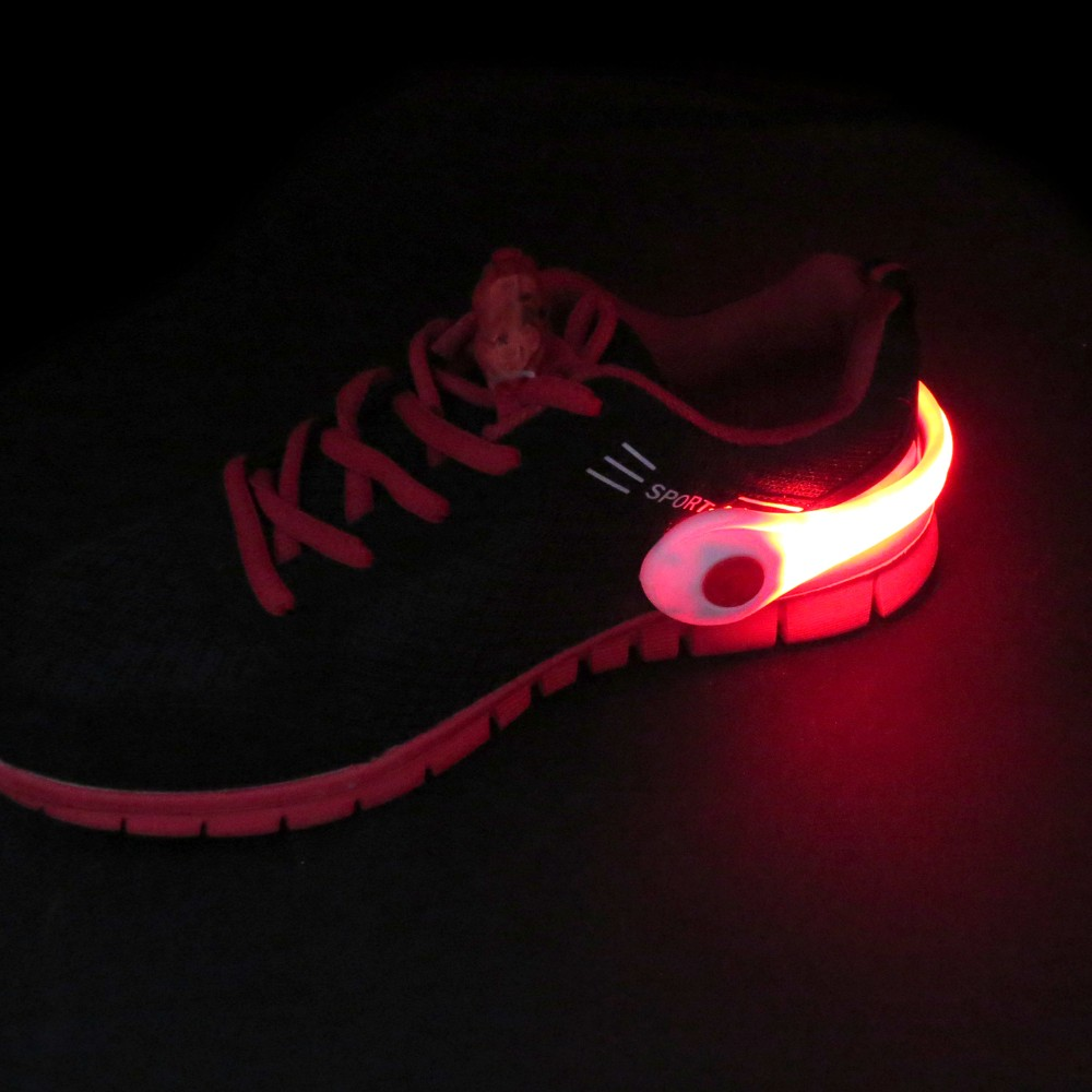 High Quality Night Safety LED Shoe Clip Light