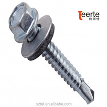 Self Drilling Roof Fixing Screws With Washer Rubber