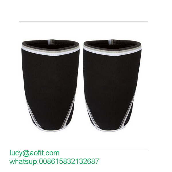 Factory Price Hot Sale 7mm Powerlifting Gear Knee Sleeves