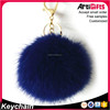 Sophisticated technology promotional gift key ring fur keychain
