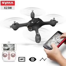 Amazon top seller 2018 SYMA X23W rc plane mini quadcopter Drone Altitude Hold Aircraft with WIFI FPV Real-Time 0.3MP Camera