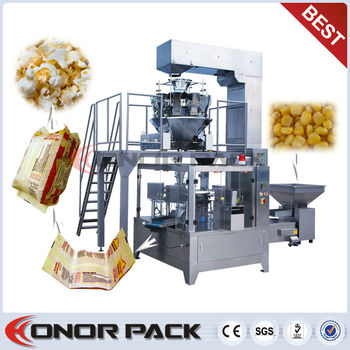 Automatic Microwave Popcorn Packing Machine