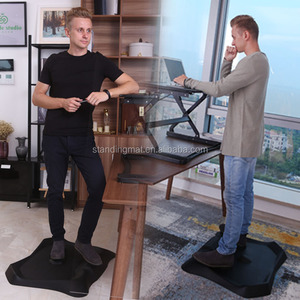 Comfortable massage not flat standing desk mat
