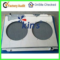 Automobiles aluminum radiator for Toyota Truck