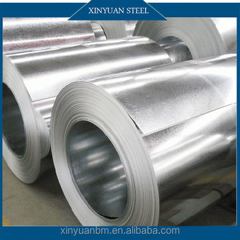 China Supplier Cold Rolled Galvanized Steel Coils Price / Strips Galvanized Coils