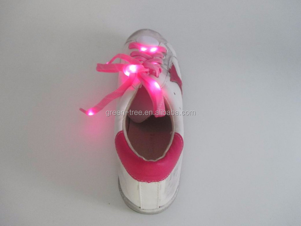 2016 Stylish Fashion Design LED Light Lace Casual Sneakers for Women