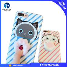 3D Cute Silicone Phone Case Squishy Phone Case for iPhone 7 Soft TPU Cover
