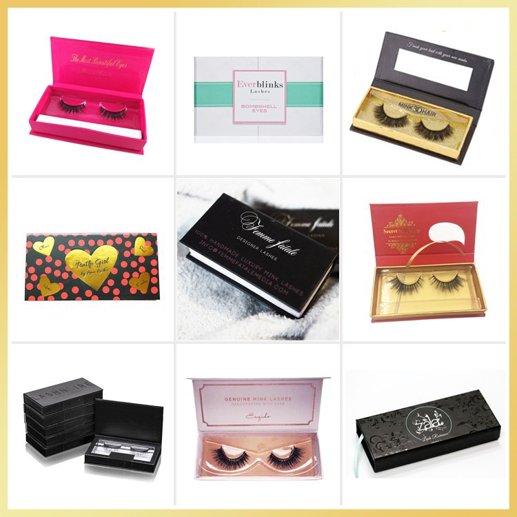 Own brand cruelty free real mink eyelash 100% handmade lashes mink fur strip eyelashes private label