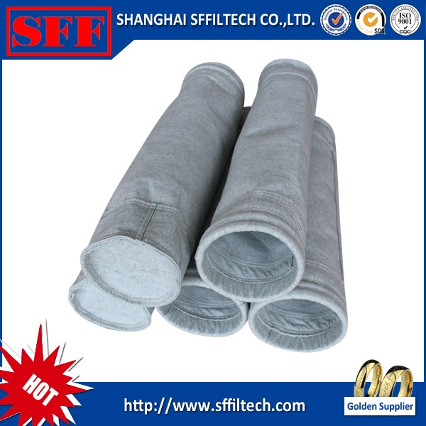 industrial cheap cement and lime industries dust filter bag producer made in china