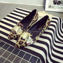 Monroo The newest lady flat shoes moccasins charming flat shoes women wholesale
