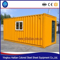made in china Poland small moving prefab house