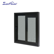 China factory directly price aluminum frame sliding glass window