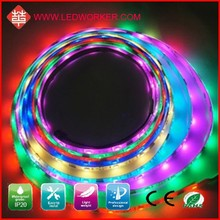Hot Sale WS2811 60LED/M Digital Led Strip Light Dmx DC5V 18W IP65 From Ledworker