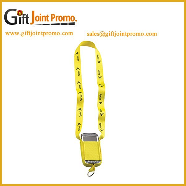 Personalized Polyester Cell phone Holder Lanyards