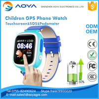 Smart Watch Phone for kids GPS LBS Wifi Tracking SOS Track Playback phone watch