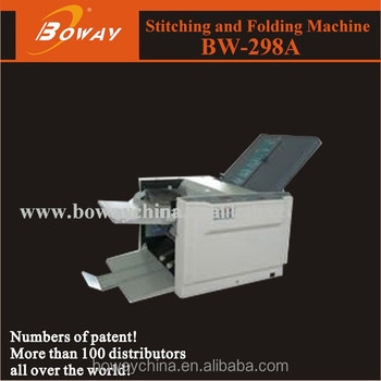 Boway service BW-298A Automatic Paper Folder Machine
