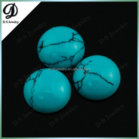 Synthetic Turquoise Round Cabochon Gem Stone Price