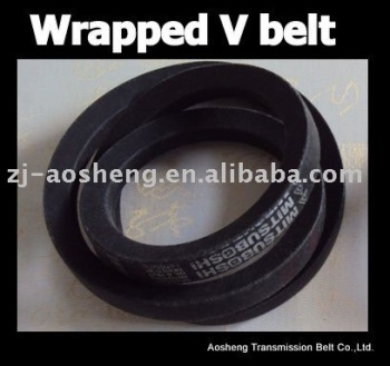 Rubber Clasical v belt / wrapped v-belt