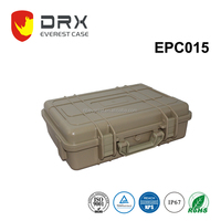ABS IP68 hard waterproof Carrying Handle plastic equipment case with dividers