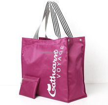 Nylon Wholesale Tote Bags With Detachable Small Pocket
