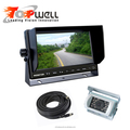 Rear View System 7 Inch HD Digital Monitor+CCD Night Vision Waterproof Reversing Camera