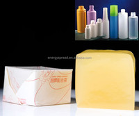 high quality low-priced packaging used hot melt glue adhesive for plastic bottle labeling