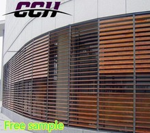 Operable Louvers, Adjustable louver shutter, aerofoil sun louver.