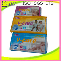 Disposable Leak Guard Sleepy and Non Woven Fabric baby diaper