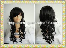 low price AAA quality top quality machine made synthetic wigs