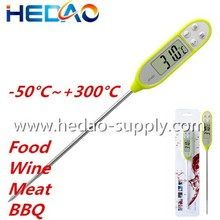 2015 Popular milk thermometer water test digital meat thermometer