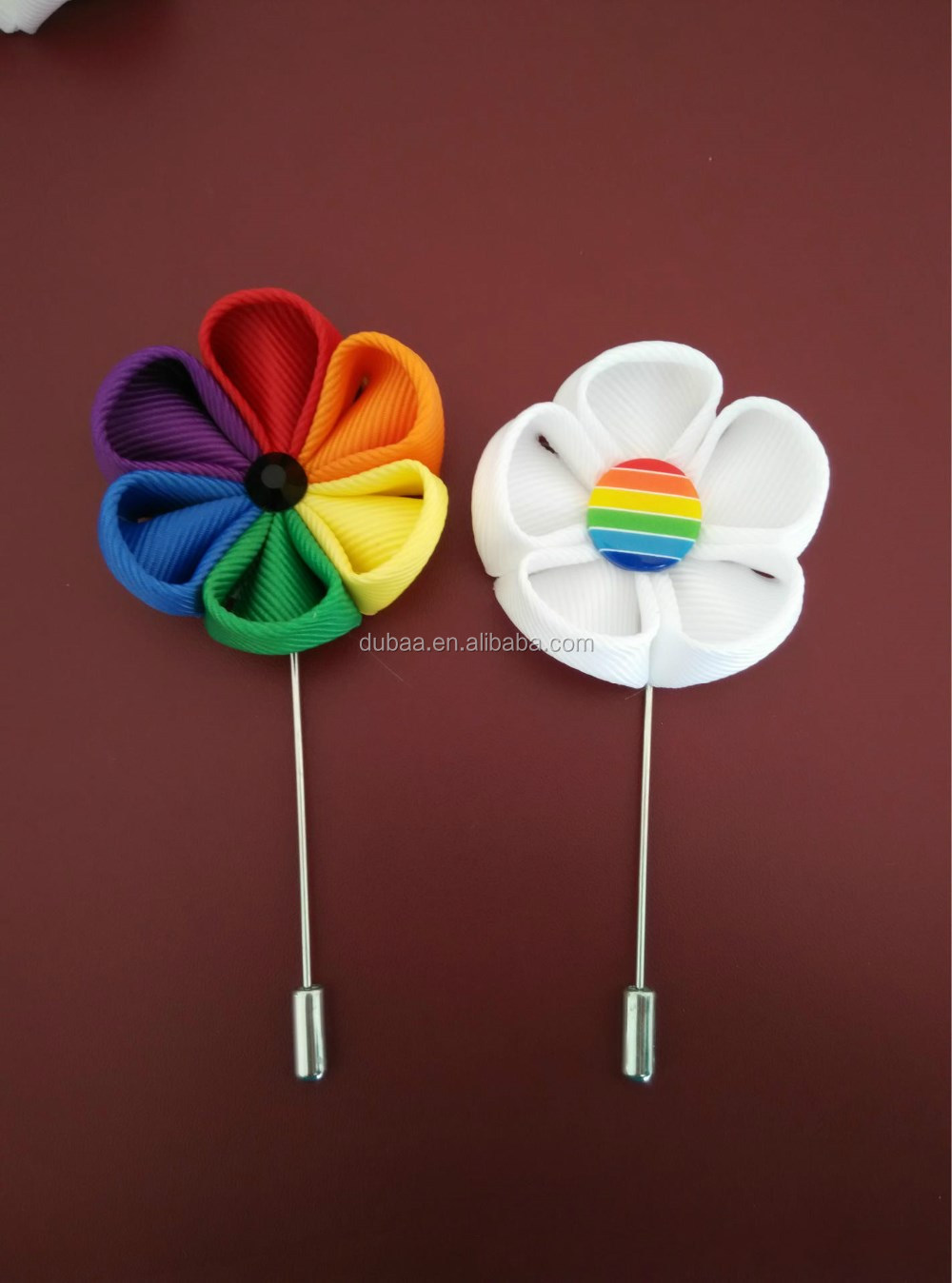 2017 Rainbow - Gay Lesbian - Stick Hat Brooch Pin