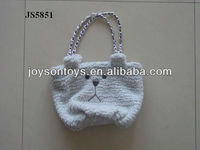 animal shaped plush bags