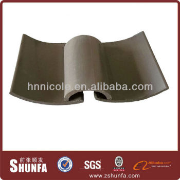 New material in cold region Chinese style metal roof tile
