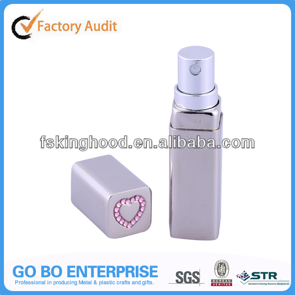 Mini fragrance spray travel perfume bottle