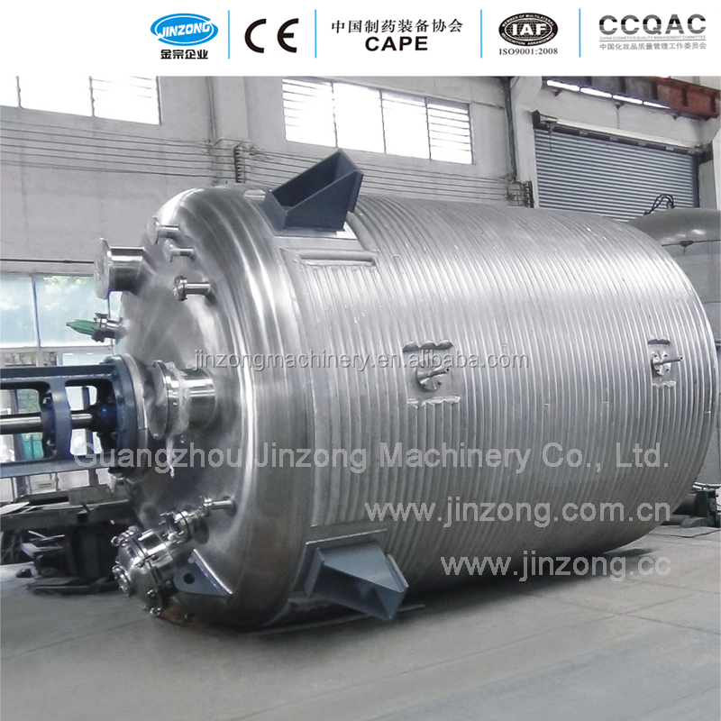 Jinzong Machinery Stainless steel chemical external half coil reactor