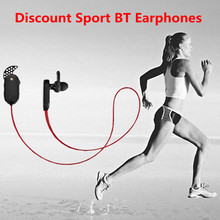 CSR Chipset in ear style branded wireless bluetooth earpiece for Apple/Samsung device