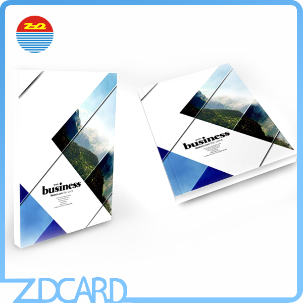 2016 Fashional Folded Promotion Booklet/Pamphlet/Leaflet