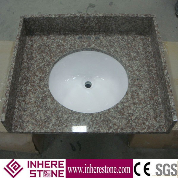 G687 Granite countertop used kitchen sink for sale