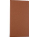 3 Ring Binder Pu Leather Hard Cover Menu Fast Food Menu Holder