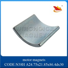 N35-N52 ndfeb arc magnet for sale