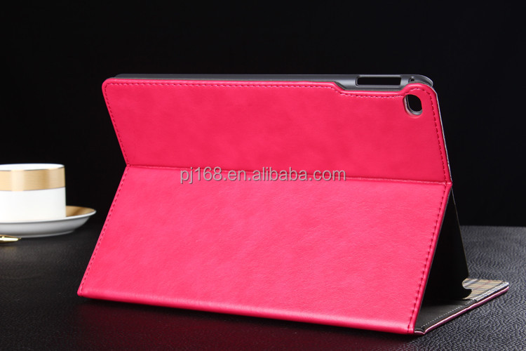 Guangzhou Pinjun Wholesale High Quality Stand Tablet Leather Case for Ipad 3