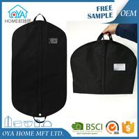 Wholesale PP non woven foldable men's garment travel suit bag with handle