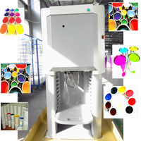 A2 0.077ml accuracy paint tinting equipment/A4 600ML colorant sequential dispenser