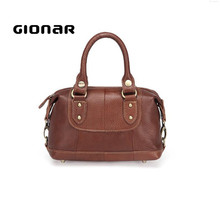 European America Fashion Single Shoulder Crossbody Leather Handbag