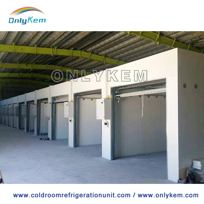 Assembling cold room for vegetable and fruits