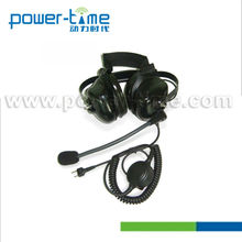 Data radio heavy noise headset for Sepura STP8000